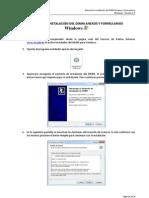 Manual Instalacion Paquete DIMM Windows V1