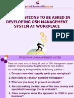 Dev OSH Mgt System[1]