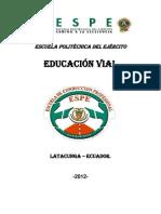 Materia Espe Educacion Vial Capitulo i