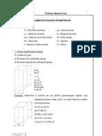 Volumes de sólidos geométricos 12p