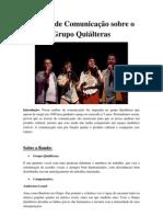 Análise de Comunicação sobre o Grupo Quiálteraspdf