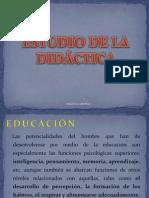 7. Estudio de la Didáctica