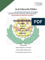 Pruebas en Motores PDF