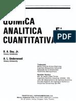 Quimica Analitica Cuantitativa Day Underwood