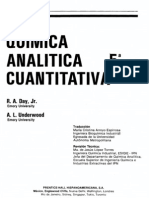 Quimica Analitica Cuantitativa Day Underwood