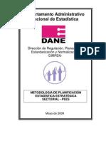 Metodologia PEE Sectorial 2009