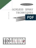 Airless Spray Training