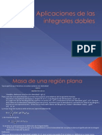 Aplicaciones de Las Integrales Dobles [Autoguardado]