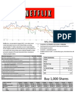 Netflix Financial Analysis