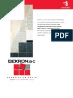 Adhesivo Bekron