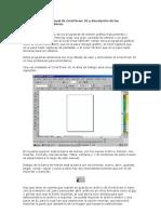 Presentación del manual de Corel Draw 10 y descripción de las herramientas más básicas