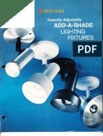 Swivelier Add-A-Shade Series Brochure 1976