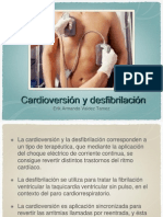 Cardioversion y Desfibrilizacion