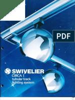 Swivelier Circa 1 Tubular Track System Brochure 1978