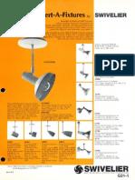 Swivelier Convert-A-Fixture Series Bulletin 1979