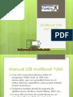 Manual Multiboot USB Con YUMI