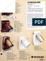 Swivelier Cozy-Lites Fixture Bulletin 1978
