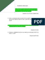 EQUILÍBRIO DE COMPLEXAÇÃO (1)