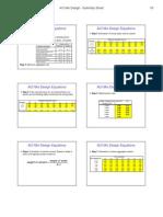 ACI Mix-Design Summary Sheet