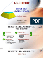 THREE-TIER LEADERSHIP