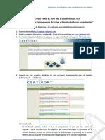 Uso Del Benchmark Mentor IC3 GS3