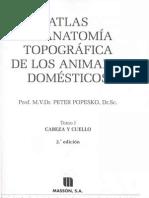 Popesko Peter - Atlas de Anatomia Topografica de Los Animales Domesticos T1