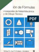 Colección de formulas  Metal mecánica y Dibujo Técnico