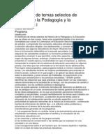 76469700 Seminario de Temas Selectos de Historia de La Pedagogia y La Educacion l