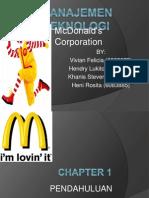 Manajemen Teknologi - McDonald's
