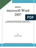 Modul Pelatihan Ms Word 2007