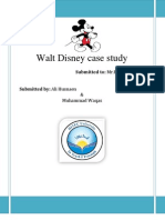 Walt Disney Report