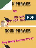 Noun Phrase Fixed
