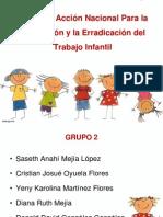 II Plan de Accion Nacional Para La Prevencion y Erradicacion Del Trabajo Infantil