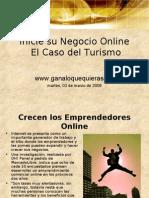 Inicie su Negocio Online El Caso del Turismo