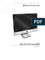 Apple Technical Guide iMac Late 2009