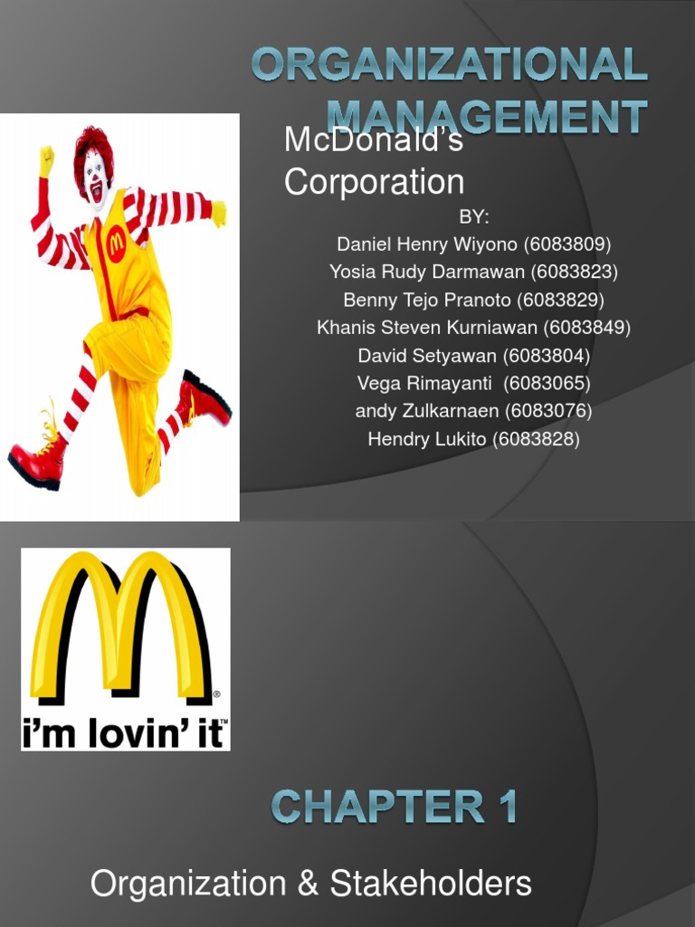 customer relationship management of mcdonalds The impact of customer relationship management on customer retention and in order to get more specific results regarding the impact of the two variables, the scope of the research reflects upon the crm activities of mcdonald's in uk and its impact on the customers of mcdonald's in uk.