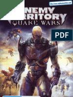Enemy Territory - Quake Wars - Manual