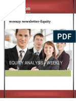 Weekly equity news letter 11March2013