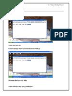 Remote control desktop report
