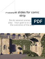 Possible Slides for Comic Strip Scenery Only