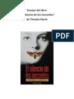Ensayo Silencio de Los Inocentes