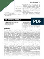 Bio Optical Models