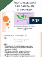 Temu 1b ; Profil Kesehatan Bayi Dan Balita Di Indonesia