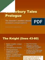Canterbury Tales Character Analysis