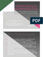 Instituciones Del Proceso Civil.