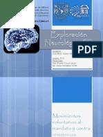 Exploración neurológica III