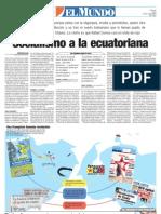 Ecuador a La Venezolana Yenniter Poleo Parte Tentrevista Francisco Endara