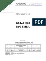 Noble Denton Global 1200 Dp2 Fmea