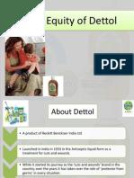 Dettol Brand Equity