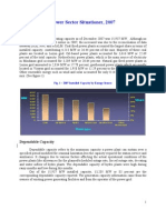 DOE Power Statistics 2007